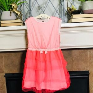 Crewcuts party tulle cotton summer dress EUC Sz 10